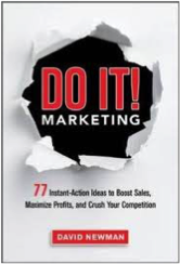 "Click on the book to grab your own copy of ""Do It! Marketing"""