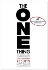 "Click the book to grab your own copy of ""The One Thing"""