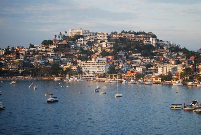Manzanillo Bay in Acapulco