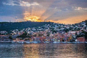 Sunset in Villefranche