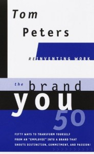 "Click on the book to grab your own copy of ""The Brand YOU"""