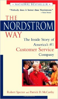 "Click on the book to grab your own copy of ""The Nordstrom Way"""