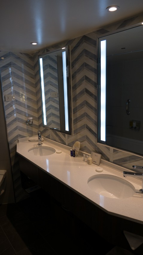 Bathroom updates on Eurodam.