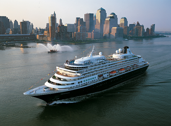 Holland America's venerable Prinsendam began her life as the Royal Viking Sun.