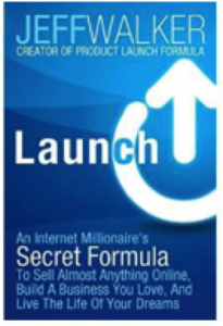"Click on the book to grab your own copy of ""Launch"""