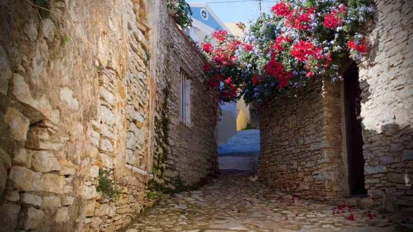 Idyllic Greece.