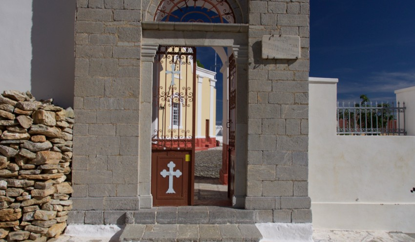 Church in Symi, Greece.