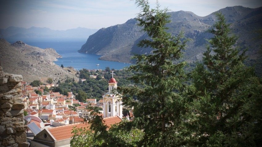 View of Symi.