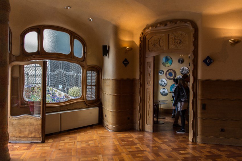Casa Batllo is Gaudi's imagination at its most whimsical.