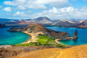 One of the many Galapagos islands