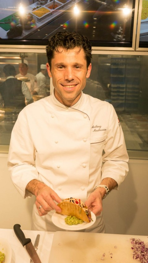 Fish Tacos Anthony Mauboussin, director of culinary development for Viking Ocean Cruises.
