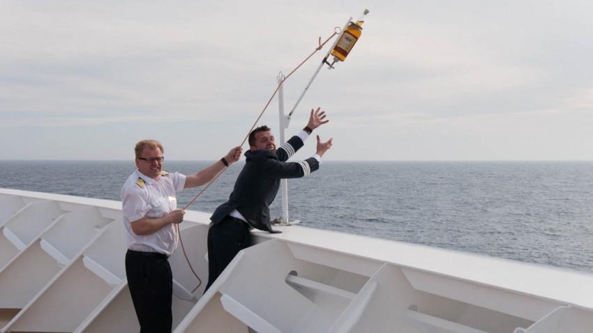 I want it back! Viking Sea General Manager Karl Eckl.