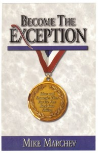 "Click here to grab your own copy of ""Become the Exception"""
