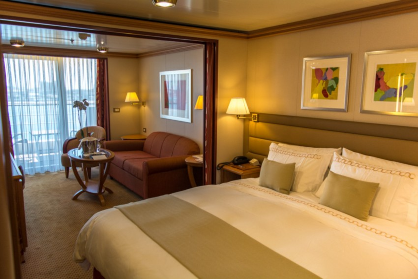 Choose your cabin wisely – it will be your home for months on end on a World Cruise.