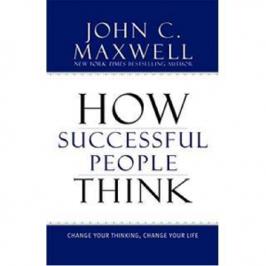 "Click on the book to grab your own copy of ""How Successful People Think"""