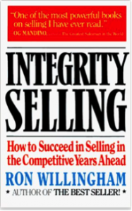 "Click on the book to grab your own copy of ""Integrity Selling"""