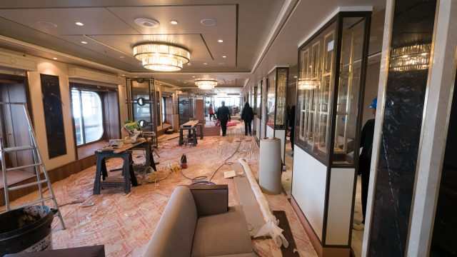 The Queen's Grill will benefit from better use of space and new soft goods.