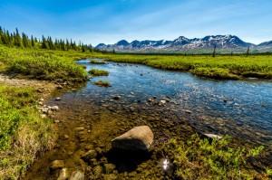 The natural scenery of Sitka, Alaska.