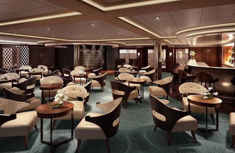 Horizon Lounge, Seven Seas Explorer.