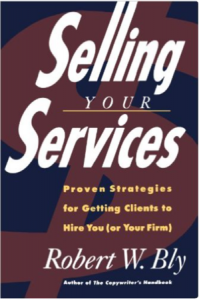"Click on the book to grab your own copy of ""Selling Your Services"""