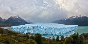 A glacier at the Los Glaciares Park