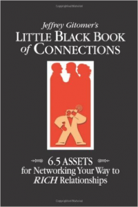 "Click on the book to grab your own copy of ""The Little Black Book of Connections"""