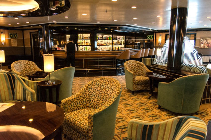 The Bar aboard Silver Spirit is still one of my favorite public rooms of any ship.