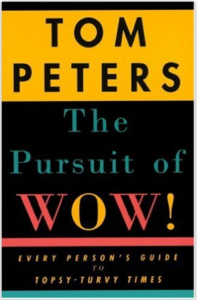 "Click on the book to grab your own copy of ""The Pursuit of WOW!"""