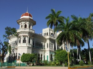 A stunning palace in Cienfuegos