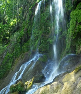 The El Nicho Waterfall in Cienfuegos