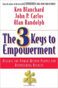 "Click on the book to grab your own copy of ""The 3 Keys to Empowerment"""