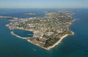Key West Aerial View by Andy Newman/Florida Keys News Bureau