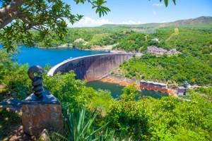 The dam at Lake Kariba