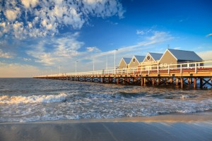 The jetty at the town of Busselton