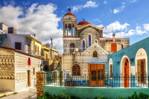 The stunning village of Pyrgi.