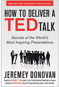"Click on the book to grab your own copy of ""How to Deliver a TED Talk"""