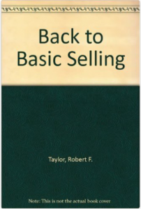 "Click on the book to grab your own copy of ""Back to Basic Selling""."