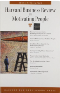 "Click on the book to grab your own copy of ""Harvard Business Review on Motivating People"""