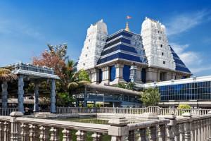 The ISKCON Hare Krishna Temple