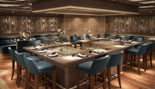 The restyled Kabuki could be thought of as Seishin 2.0. Rendering courtesy of Silversea.
