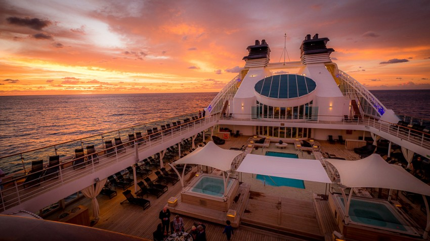 Seabourn's thoughtful design isn't lost on the line's luxury-seeking clientele.