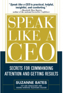 "Click on the book to grab your own copy of ""Speak Like A CEO"""