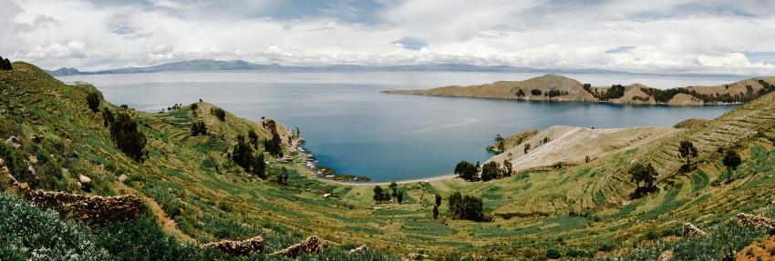 Lake Titicaca and Isla de la Sol