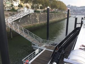 In Porto, Scenic and Emerald Waterways' Douro ships will dock at Cais de Maragaia. Photo courtesy of Scenic.