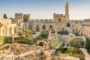 The Tower Of David in Jerusalem, Israel.