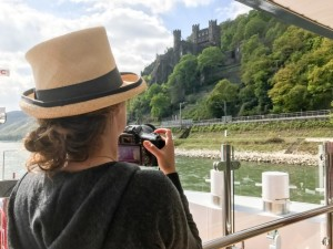 Capturing the beauty of the Rhine Gorge. © 2017 Ralph Grizzle