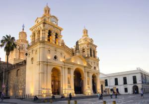 Catedral y Cabildo de Cordoba, Argentina.