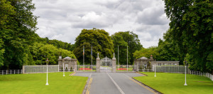 Phoenix Park in Dublin, one of the largest walled city parks in Europe.