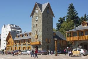 Town hall of San Carlos de Bariloche, Argentina