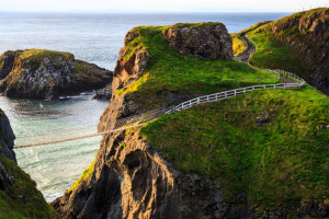 Carrick-a-Rede Bridge, Northern Ireland.